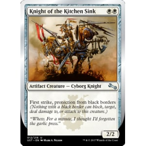 Knight of the Kitchen Sink