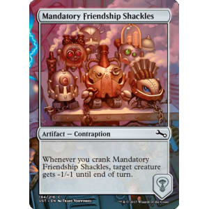 Mandatory Friendship Shackles