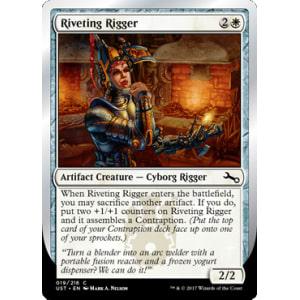 Riveting Rigger