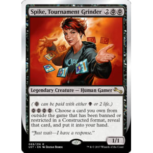 Spike, Tournament Grinder