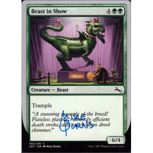 Beast in Show Signed by Mike Burns (Bow Lizard)