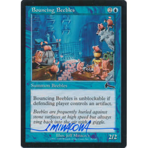 Bouncing Beebles Signed by Jeff Miracola (Urza's Legacy)