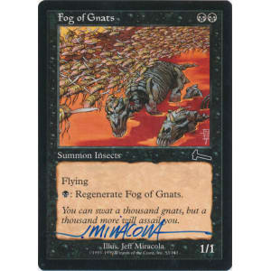 Fog of Gnats Signed by Jeff Miracola (Urza's Legacy)