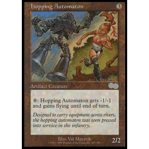 Hopping Automaton
