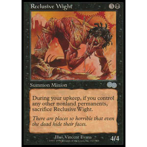 Reclusive Wight