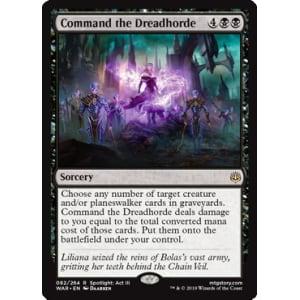 Command the Dreadhorde