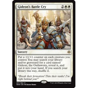 Gideon's Battle Cry