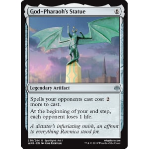 God-Pharaoh's Statue