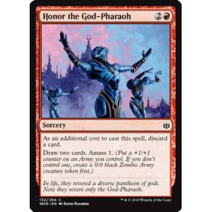 Honor the God-Pharaoh