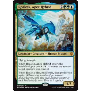 Roalesk War of the Spark Magic the Gathering Apex Hybrid