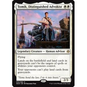 Tomik, Distinguished Advokist