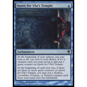 Quest for Ula's Temple