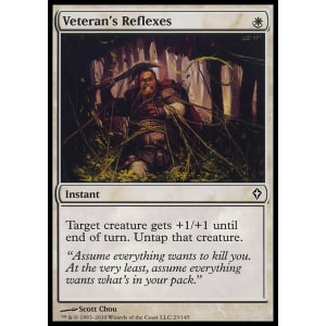 Veteran's Reflexes