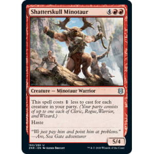 Shatterskull Minotaur