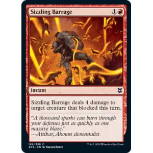 Sizzling Barrage