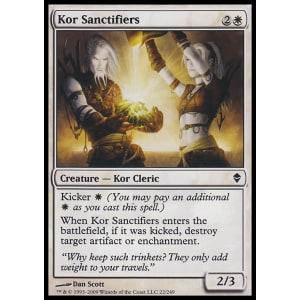 Kor Sanctifiers