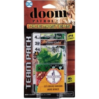 DC Dice Masters: Doom Patrol Team Pack