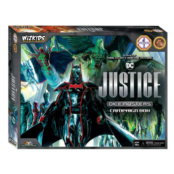 DC Dice Masters: Justice Campaign Box (Ding & Dent)
