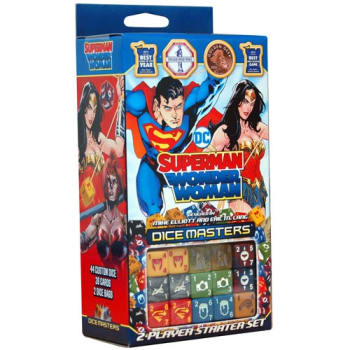 DC Dice Masters: Superman/Wonder Woman Starter Set