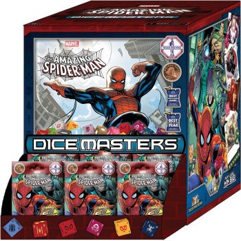 Marvel Dice Masters: The Amazing Spider-Man Gravity Feed Display
