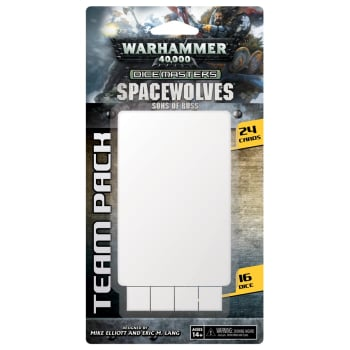 Warhammer 40,000 Dice Masters: Space Wolves - Sons of Russ Team Pack