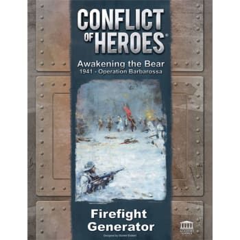 Conflict of Heroes: Awakening the Bear! Firefight Generator Expansion