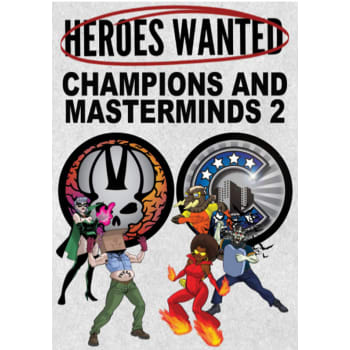 Heroes Wanted: Champions & Masterminds 2 Expansion