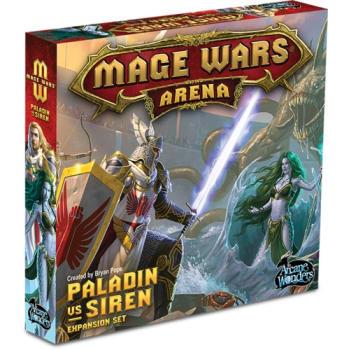 Mage Wars Arena: Paladin vs. Siren