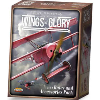 Wings of Glory WWI Rules and Accessories Pack