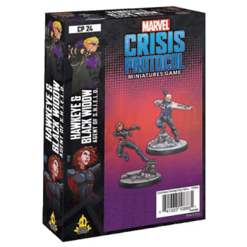 Marvel: Crisis Protocol - Hawkeye and Black Widow Character Pack