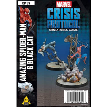 Marvel: Crisis Protocol - Amazing Spider-Man and Black Cat Character Pack