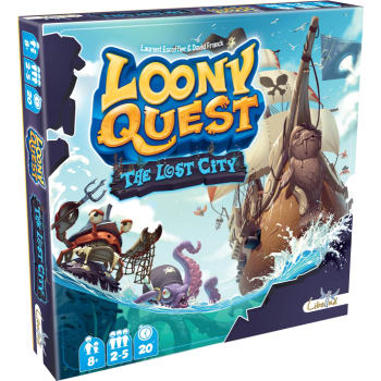 Loony Quest: The Lost City Expansion