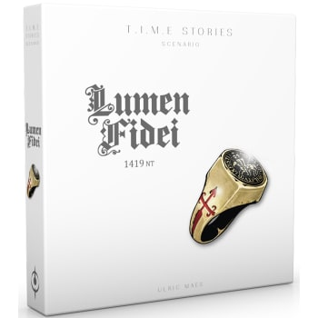 T.I.M.E. Stories: Lumen Fidei 1419 NT Expansion
