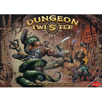 Dungeon Twister 2: Prison Board Game