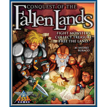 Conquest of the Fallen Lands Board Game