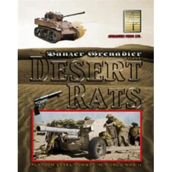 Panzer Grenadier: Desert Rats Board Game