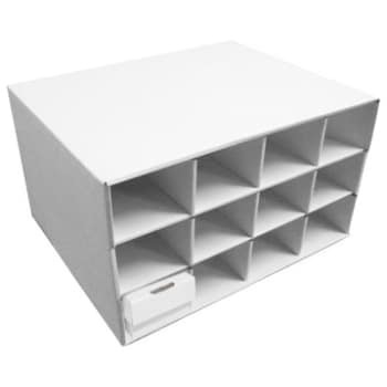 Card Storage - 12 Slot Card Box Hotel w/ 800 ct. boxes (put together)