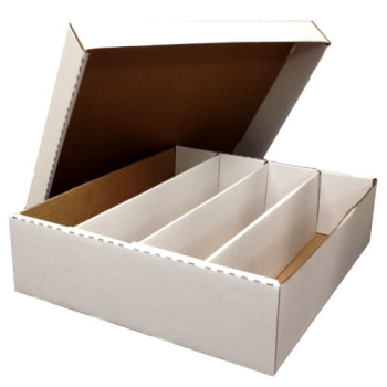 Card Storage - 3200 count box