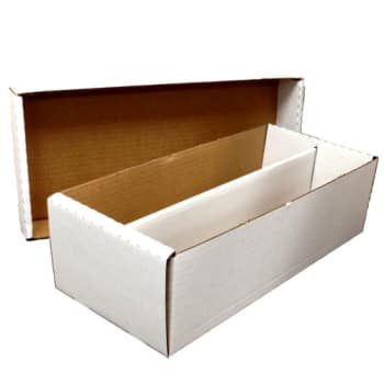 Card Storage - 1600 count with lid (5) ''Shoebox''