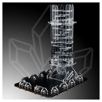 Cristal Dice Tower