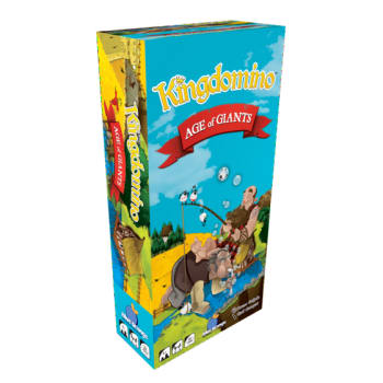 Kingdomino: Age of Giants Expansion (Ding & Dent)