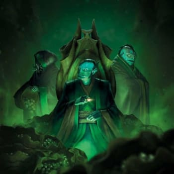 Conspiracy: Abyss Universe - Green Cover Variant