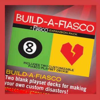 Fiasco: Build-a-Fiasco Expansion Pack