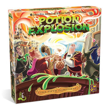 Potion Explosion: The 5th Ingredient Expansion