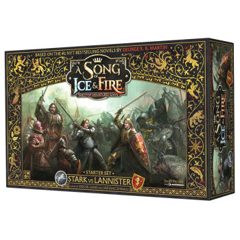 A Song of Ice & Fire Tabletop Miniatures Game: Stark vs Lannister Starter Set