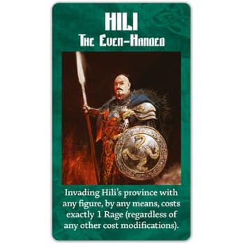 Blood Rage: Hili - The Even-Handed Promo