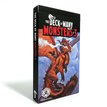 Dungeons & Dragons: The Deck of Many Monsters 3