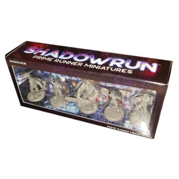 Shadowrun 6th Edition: Prime Runner Miniatures
