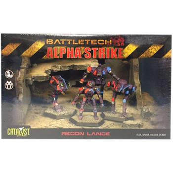 BattleTech: Alpha Strike: Recon Lance Pack