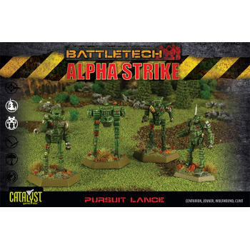 BattleTech: Alpha Strike: Pursuit Lance Pack